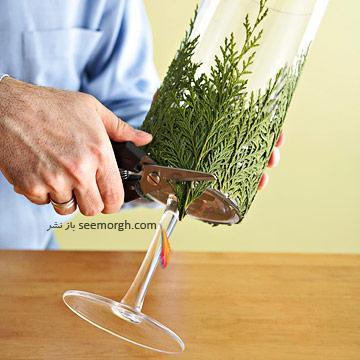 یک ایده جالب و آسان برای تزیین شمع
