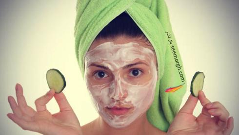 ماسک ماست و خیار,ماسک,ماسک صورت