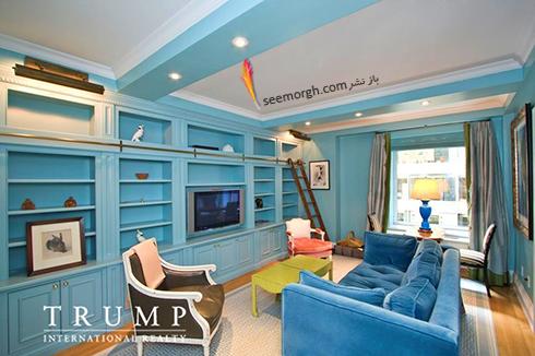 دکوراسیون داخلی خانه ایوانکا ترامپ Ivanka Trump - عکس شماره 6