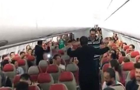 """رقص در پرواز کوآلالامپور به تهران , """"رقص"""" در پرواز مالزی , شرکت ایرآسیا , ماجرای رقص در هواپیمای مالزی"""