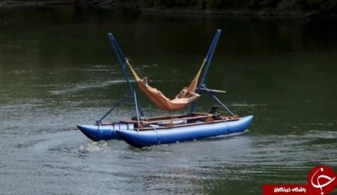 قایق ننو دار