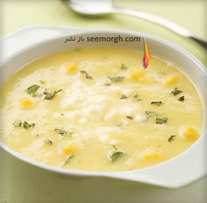 طرز تهیه سوپ ذرت تابستانی
