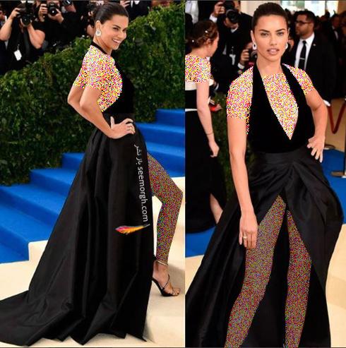 مدل لباس آدریانا لیما Adriana Lima در مراسم مت گالا Met Gala 2017