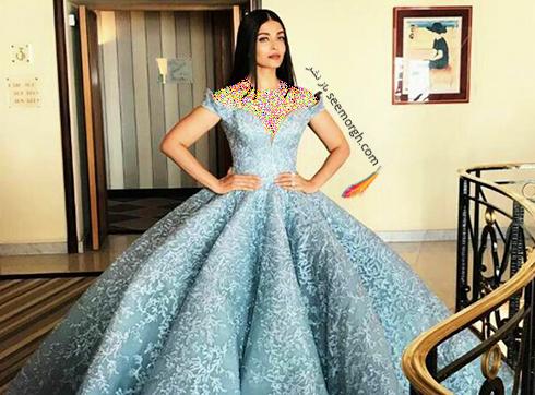 مدل لباس آیشواریا رای Aishwarya Rai در سومین روز جشنواره کن 2017 Cannes