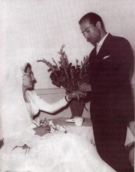 عکس عروسی دکتر شریعتی