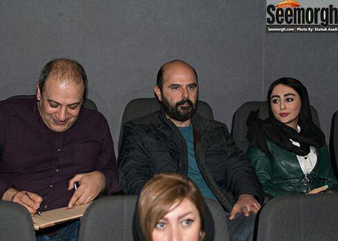 علی مصفا و ستاره حسینی در اکران فیلم وارونگی
