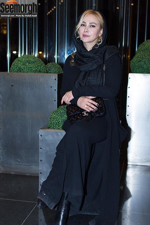 مدل مانتو آنا نعمتی در مراسم اکران فیلم ماحی