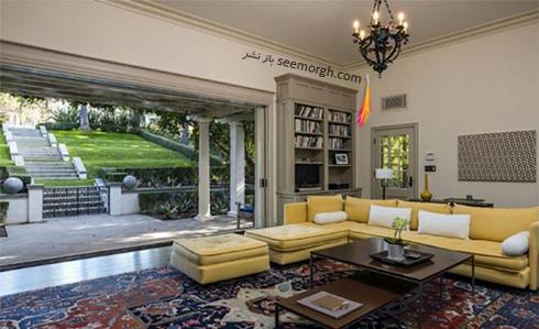 دکوراسیون داخلی خانه جدید آنجلینا جولی Anjelina Jolie - عکس شماره 4