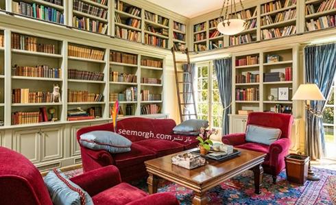 دکوراسیون داخلی خانه جدید آنجلینا جولی Anjelina Jolie - عکس شماره 3