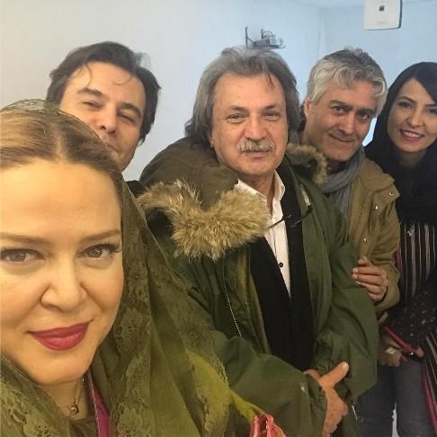 بهاره رهنما و پیمان قاسمخانی در اجرای دخترشان پریا