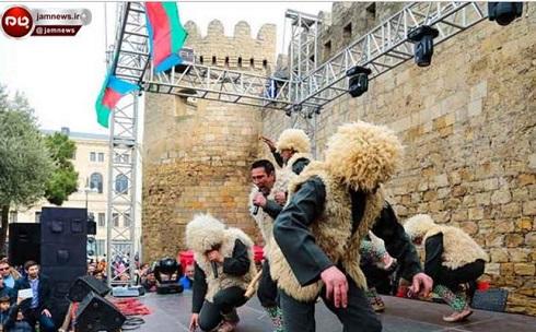 رقص های آذری در جشن نوروز آذربایجان