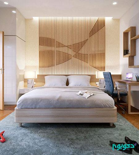تزیینات دیوار برای دکوراسیون اتاق خواب - عکس شماره 1