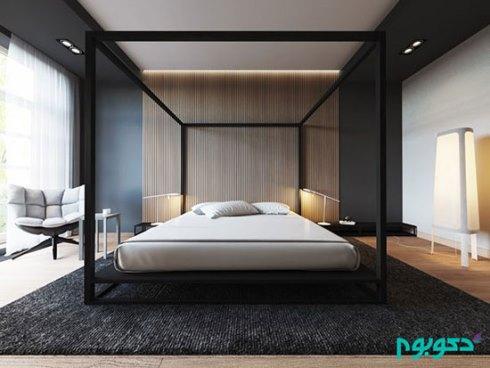 تزیینات دیوار برای دکوراسیون اتاق خواب - عکس شماره 7