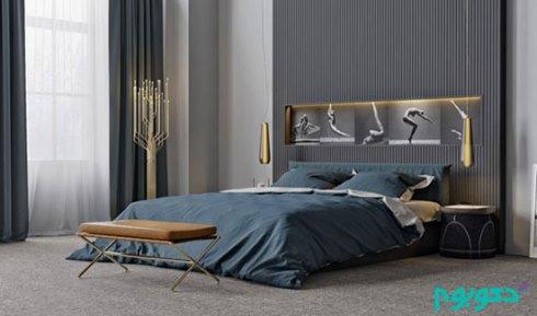 تزیینات دیوار برای دکوراسیون اتاق خواب - عکس شماره 6