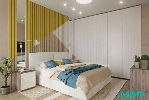 تزیینات دیوار برای دکوراسیون اتاق خواب - عکس شماره 5