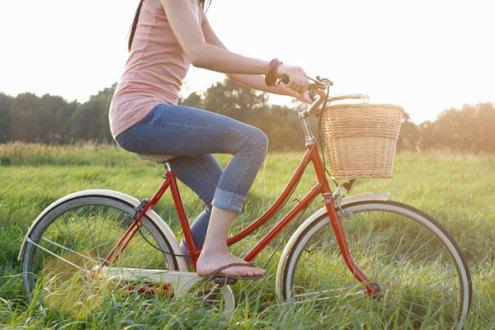 پرهیز از دوچرخه سواری طولانی و فشار بر واژن
