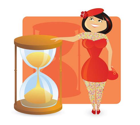 تیپ بدنی ساعت شنی