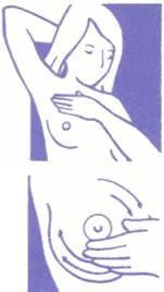 آزمایش پستان و زیر بغل