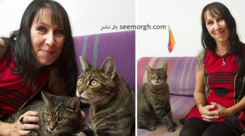ازدواج زن با گربه هایش ,  ازدواج های عجیب ,  باربارلا بوخنر ,  زنی که با گربه هایش ازدواج کرد