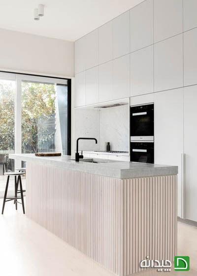استفاده از بافت های جذاب در دکوراسیون آشپزخانه