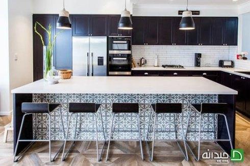 ترکیب بافت ها در طراحی آشپزخانه