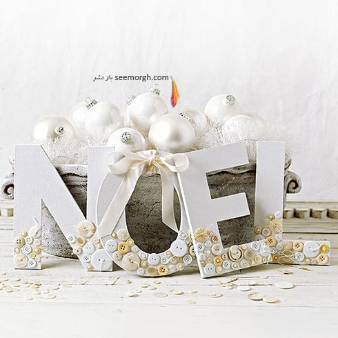 دکوراسیون کریسمس با ترکیب رنگ سفید و قرمز - عکس شماره 4