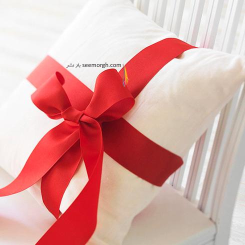 دکوراسیون کریسمس با ترکیب رنگ سفید و قرمز - عکس شماره 6