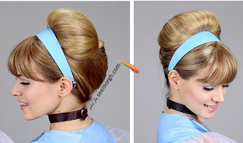 مدل مو دخترانه به سبک سیندرلا Cinderella