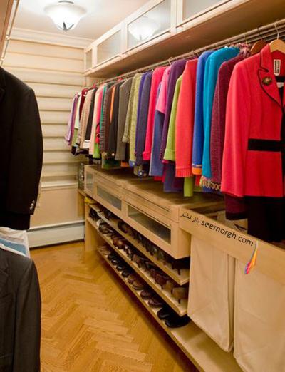 برای انتخاب رنگ دکوراسیون خانه تان از کمد لباس های تان الگوبرداری نکنید