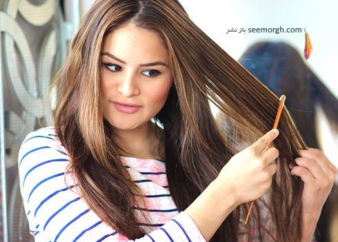 ترمیم مو,ترمیم موهای سوخته,موهای سوخته,موهای آسیب دیده,ترمیم موهای آسیب دیده,پاکسازی مو از رسوبات سخت