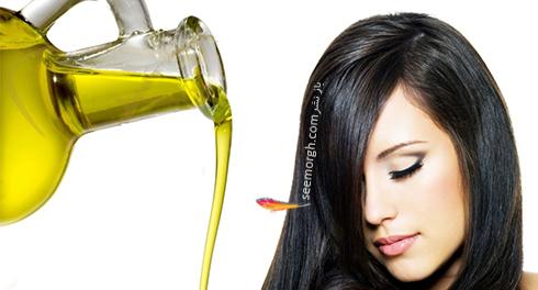 ترمیم مو,ترمیم موهای سوخته,موهای سوخته,موهای آسیب دیده,ترمیم موهای آسیب دیده,درمان با روغن داغ را امتحان کنید