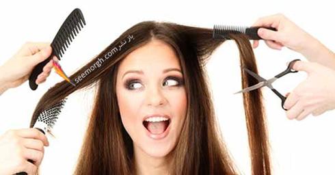 ترمیم مو,ترمیم موهای سوخته,موهای سوخته,موهای آسیب دیده,ترمیم موهای آسیب دیده,موهایتان را کوتاه کنید
