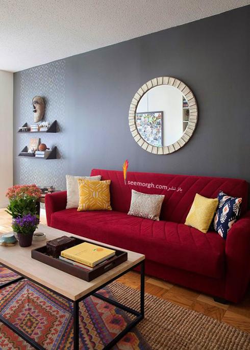 استفاده از رنگ خاکستری در دکوراسیون داخلی برای ست کردن با دیوارهای سفید - عکس شماره 2
