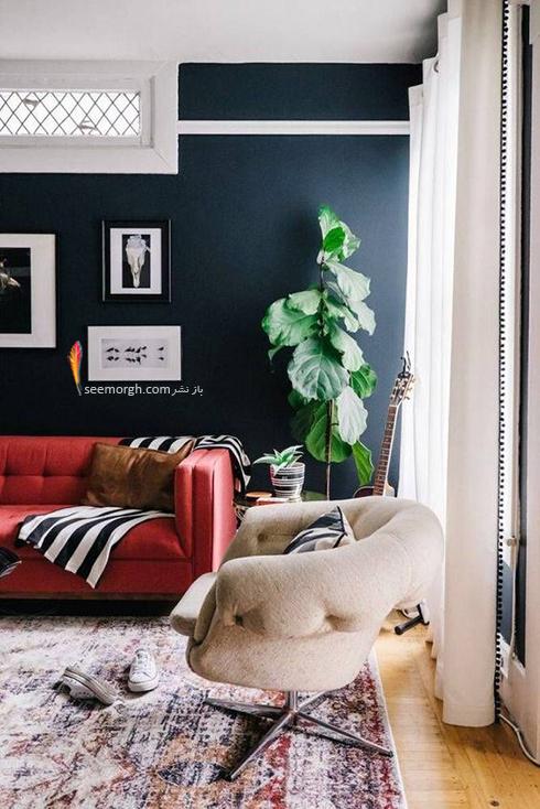 استفاده از رنگ خاکستری در دکوراسیون داخلی برای ست کردن با دیوارهای سفید