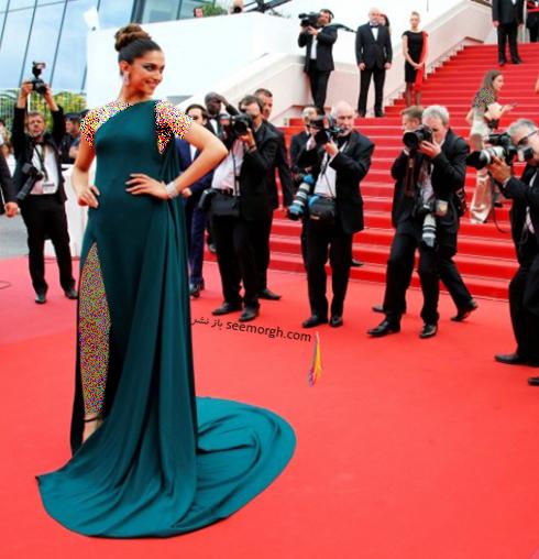 مدل لباس دیپیکا پادوکن Deepika Padukone در سومین روز جشنواره کن 2017 Cannes