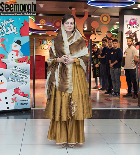 عکس های اختصاصی سیمرغ از دیا میرزا بازیگر فیلم سلام بمبئی