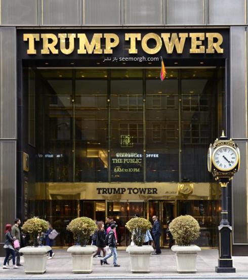 دکوراسیون داخلی پنت هاوس دونالد ترامپ Donald John Trump - عکس شماره 11