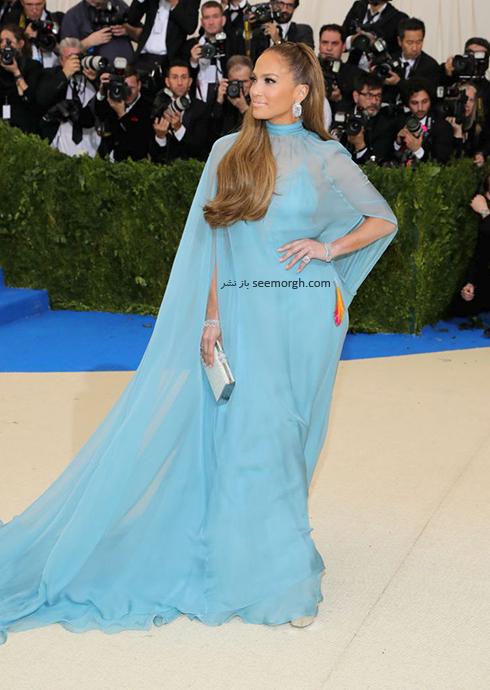 مدل لباس جنیفر لوپز Jennifer Lopez در مراسم مت گالا Met Gala 2017