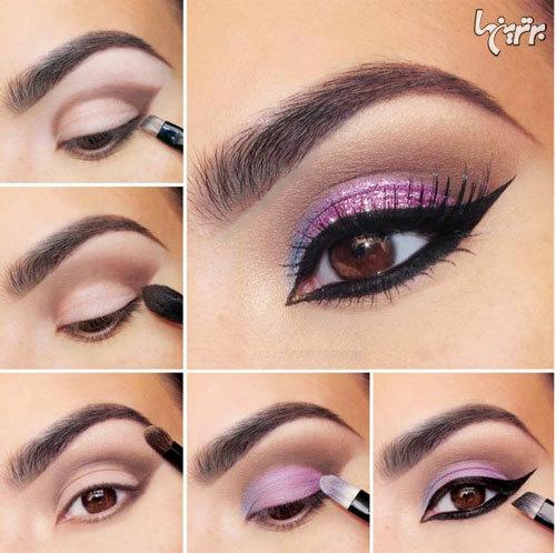 آرایش چشم مخصوص میهمانی - مدل شماره 2