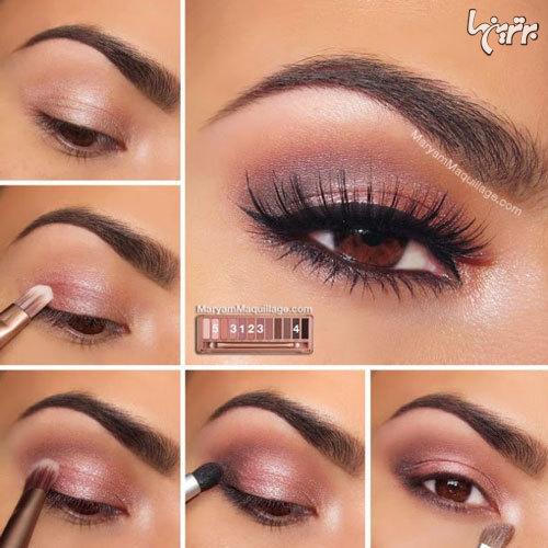 آرایش چشم مخصوص میهمانی - مدل شماره 3