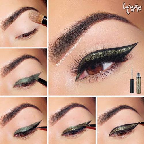 آرایش چشم مخصوص میهمانی - مدل شماره 5