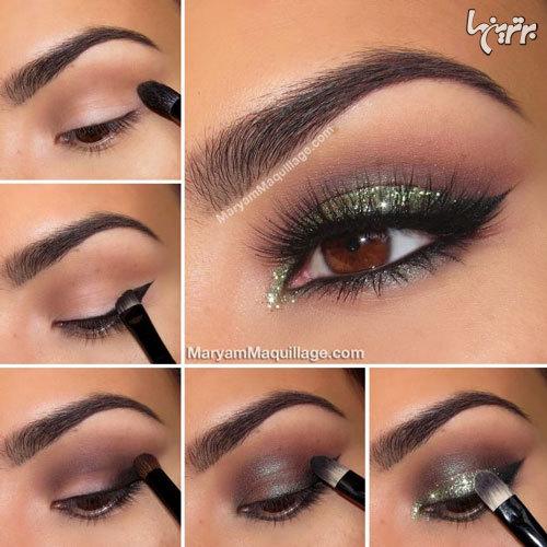 آرایش چشم مخصوص میهمانی - مدل شماره 7