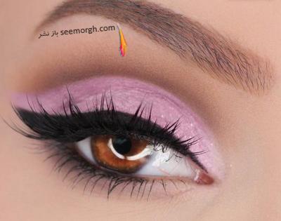 برای درشت کردن چشم های تان از سایه روشن استفاده کنید