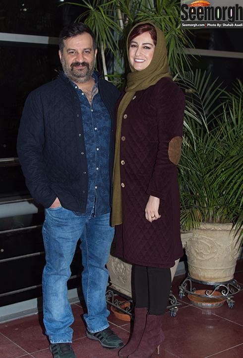 مدل لباس مهراب قاسم خانی در چهارمین روز جشنواره فجر 35