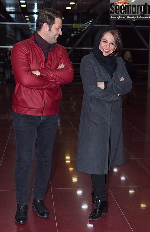 مدل مانتو مستانه مهاجر در دومین روز جشنواره فجر 35