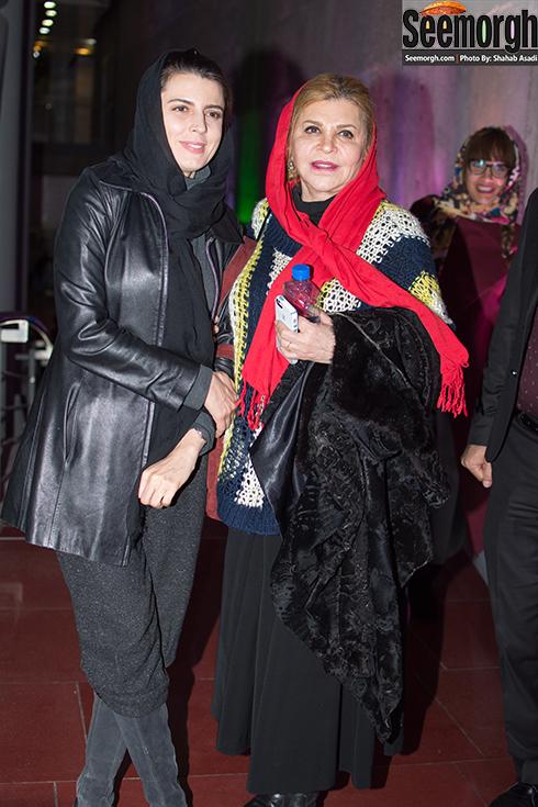 مدل مانتو زری خوشکام در دومین روز جشنواره فجر 35