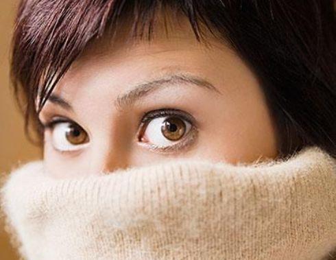 خانم هستید پس بیشتر سردتان می شود