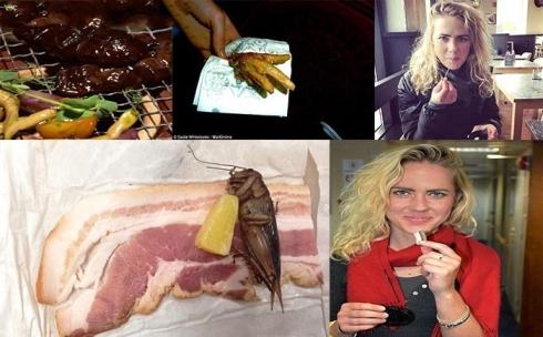 سادیه و خوردن غذا های عجیب و غریب