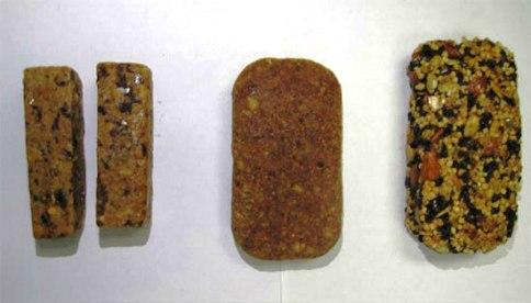 شکل غذاهای فضانوردان