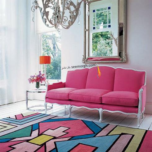 انتخاب رنگ مبلمان بر اساس رنگ های موجود در فرش - عکس شماره 2